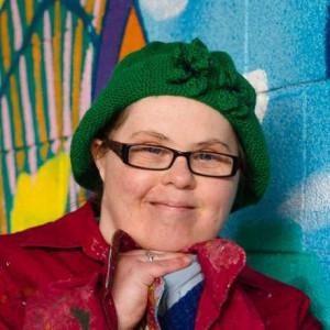 Headshot of the artist Emily Crockford